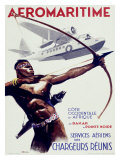 Aeromaritime Giclee Print