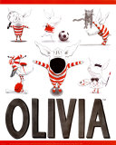 Olivia, Busy Little Piggy Poster van Ian Falconer