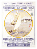 Yacht Club de France Giclee Print
