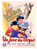 Marx Brothers, Jour au Cirque Giclee Print by  Poissonnie