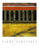 Eight Verticals Prints by Clifford Paine
