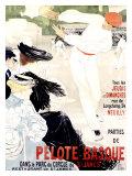 Pelote Basque Giclee Print by Clementine Helene Dufau