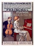 Ruckmich Musik Giclee Print