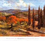 Montepulciano Prints by Michael Longo