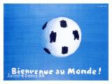 World Soccer Giclee Print
