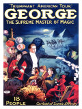 George the Supreme Master of Magic Giclee Print
