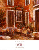 Bistro Prints by Michael Longo