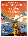 Join the Army Air Service Giclee Print