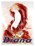 Diana Giclee Print by Charles Gesmar