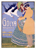 Golya Giclee Print by Geza Farago