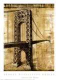 George Washington Bridge Prints by P. Moss