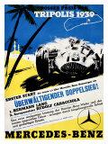 Tripolis 1939, Mercedes Benz Impression giclée