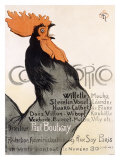 Cocorico Giclee Print by Th&#233;ophile Alexandre Steinlen