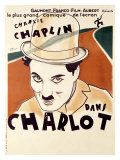 Charlot Reproduction proc&#233;d&#233; gicl&#233;e par Tranchant 