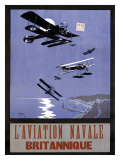 L'Aviation Navale, Britannique Giclee Print by Nancy Smith