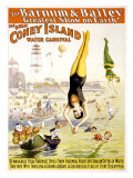 Barnum and Bailey, Coney Island Giclee Print