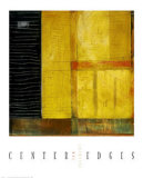 Center Edges Poster by Clifford Paine