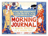 Morning Journal Giclee Print by Louis John Rhead