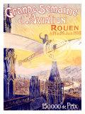 Grande Semaine d'Aviation Giclee Print by Charles Rambert