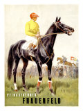 Pfingstrennen, Frauenfeld Giclee Print by Iwan E. Hugentobler