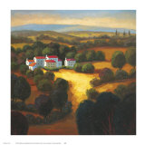Tuscan Landscape I Posters by Tomasino Napolitano