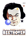 Beethoven Giclee Print