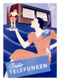 Telefunken Radio, c.1938 Giclee Print
