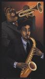 Jazz City I Print