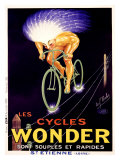 Bicicletas Wonder Lámina giclée por Paul Mohr
