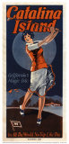 Catalina, Golfer, 1924 Posters
