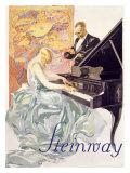 Steinway Giclee Print by Werner Von Axster-Heudtlass