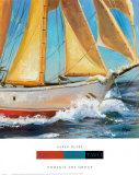 Yacht Club II Print by Karen Dupré