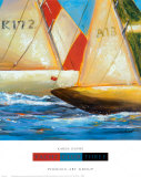 Yacht Club III Prints by Karen Dupré