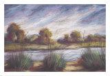 Pastel Landscape I Art by Oliver Norton