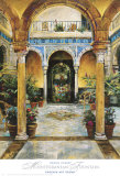 Mediterranean Fountain Posters by Dennis Carney