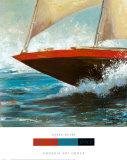 Yacht Club I Prints by Karen Dupré