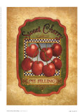 Sweet Cherry Pie Filling Posters by Lillian Egleston