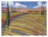 Pastoral Fields I Print by Craig Alan
