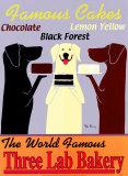 La boulangerie des trois labradors Poster par Ken Bailey