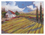 Pastoral Fields II Prints by Craig Alan