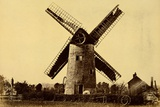 Windmill at Kempsey Photographic Print by Benjamin Brecknell Turner