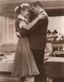 Lucille Ball and Desi Arnaz Print