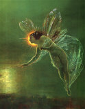 Spirit of the Night Pôsters por John Atkinson Grimshaw