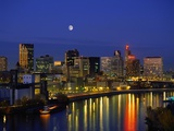 St. Paul at Night Photographic Print by Bill Ross