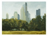 Central Park Skyline Giclee Print by Mary Iverson