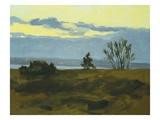 Discovery Park Evening Giclee Print by Mary Iverson