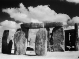 Stonehenge and Cloudy Sky Photographic Print by Kevin Schafer