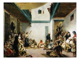Jewish Wedding in Morocco Giclee Print by Piere-Auguste Renoir