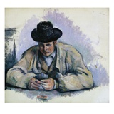 Study for The Cardplayers Giclee Print by Paul Cézanne