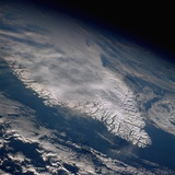 Greenland Seen from Space Photographic Print